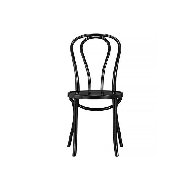 Crate & Barrel Vienna Black Side Chair