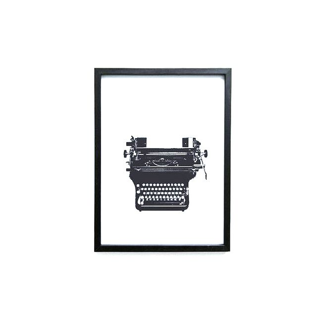 Artsy Modern Typed Love Print