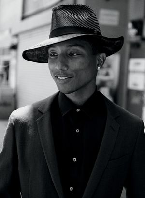 Pharrell Gets Dapper For WSJ Magazine