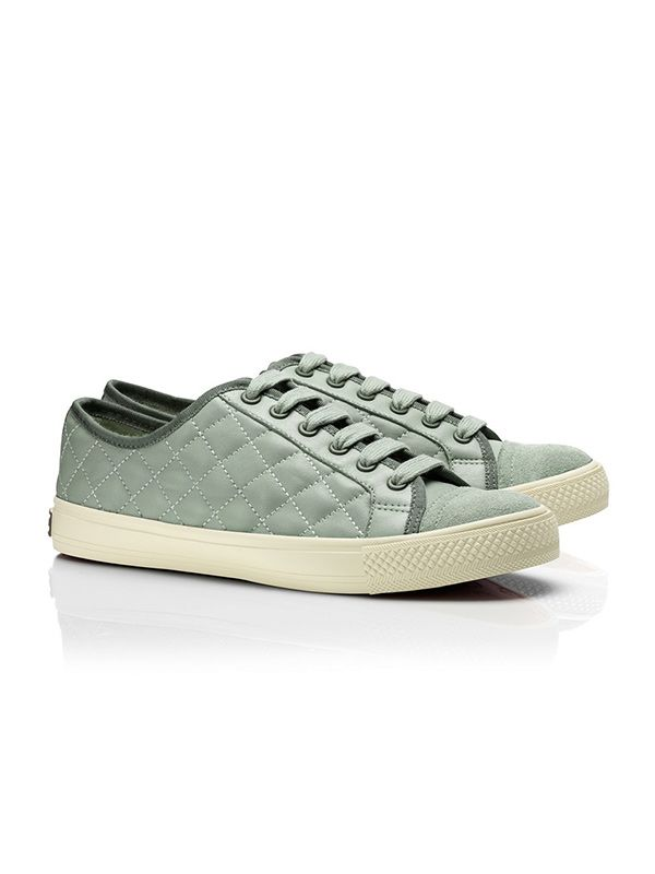 Tory Burch Caspe Quilted Leather Sneakers