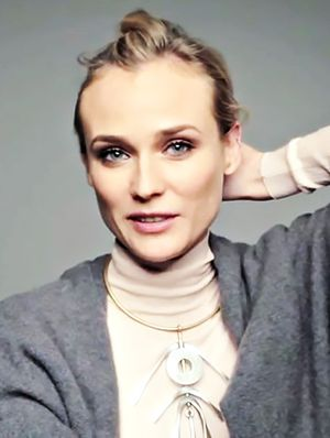 How Diane Kruger Fixes a Bad Hair Day