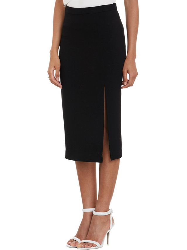 A.L.C. Tone Crepe Pencil Skirt