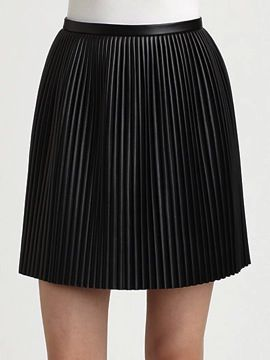 Tibi  Eniko Accordion Pleat Skirt ($