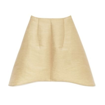 Carven Cotton Faille Full Skirt