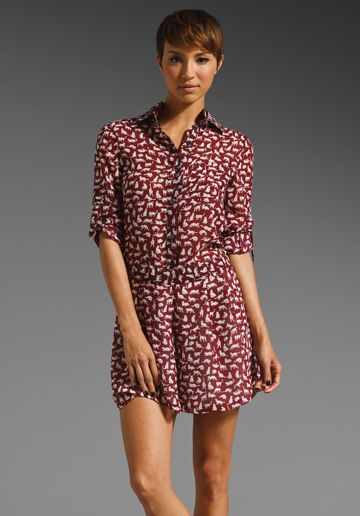10 Crosby Derek Lam  Kitty Print Romper