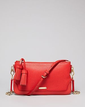 Burberry  Peyton Tassel Crossbody Bag