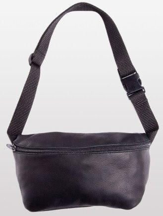 American Apparel  Leather Fanny Pack