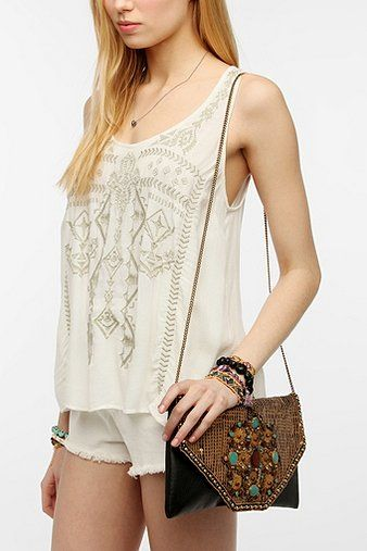 Ecote  Moroccan Metal Crossbody