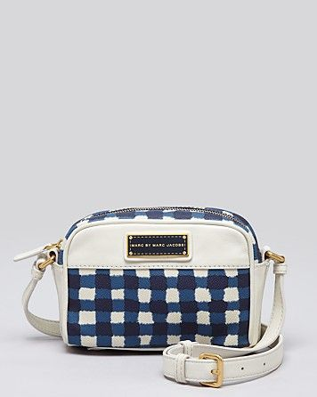 Marc By Marc Jacobs  Mar'd & Check'd Mini Crossbody