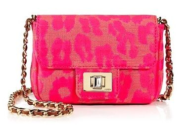 Juicy Couture  Neon Leopard Mini Shoulder Bag