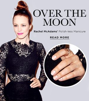 Rachel McAdams' Winning Nail Stickers