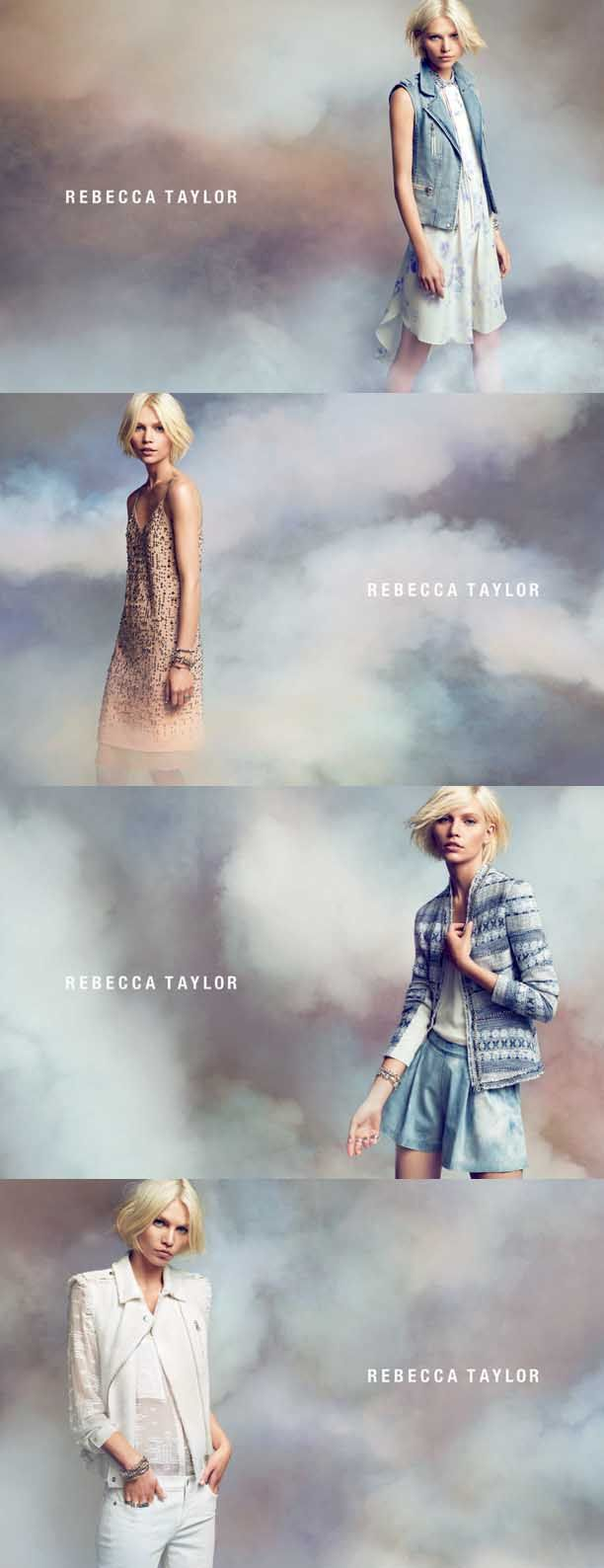 First Look: Rebecca Taylor S/S 13 Campaign