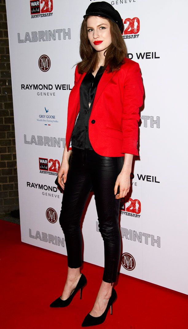 Look of the Day: Red Blazer