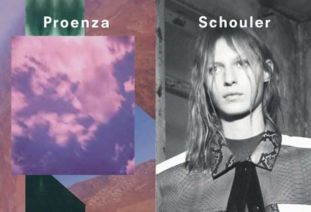 First Look: Proenza Schouler S/S 13 Ad Campaign