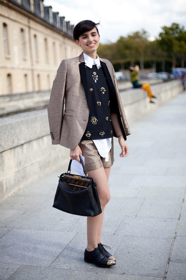 Street Style: White Collar