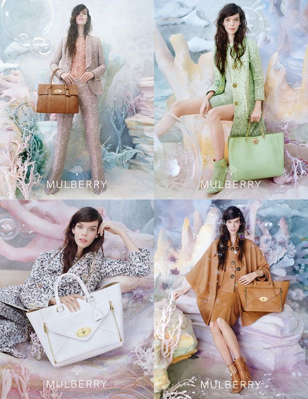 First Look: Mulberry S/S 13 Campaign