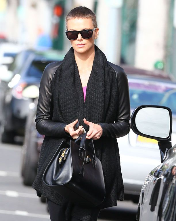 Look We Love: Charlize Theron Buzz Cut