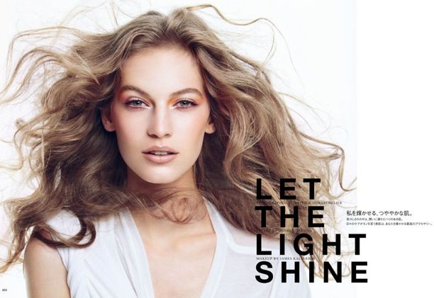 Let The Light Shine | Vogue Japan