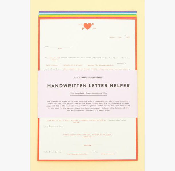 Go Buy Now: The Handwritten Letter Helper