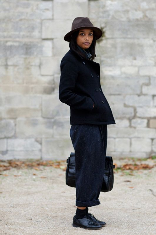 Street Style: Dark + Cropped