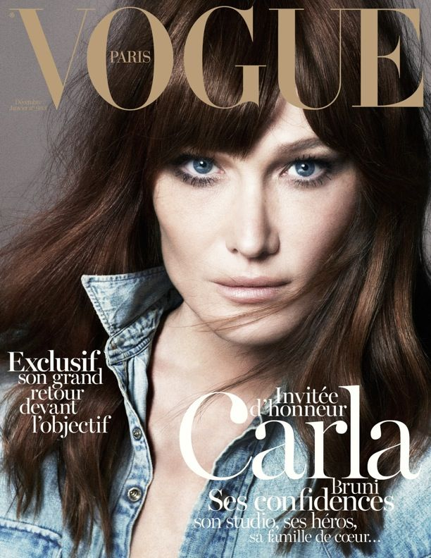 Carla Bruni | Vogue Paris
