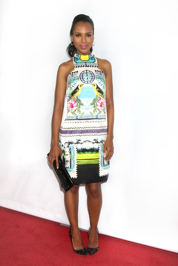 Look of the Day: Mirror Print