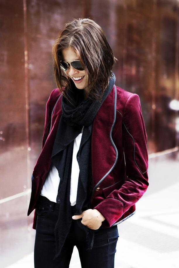 Street Style: Velvet