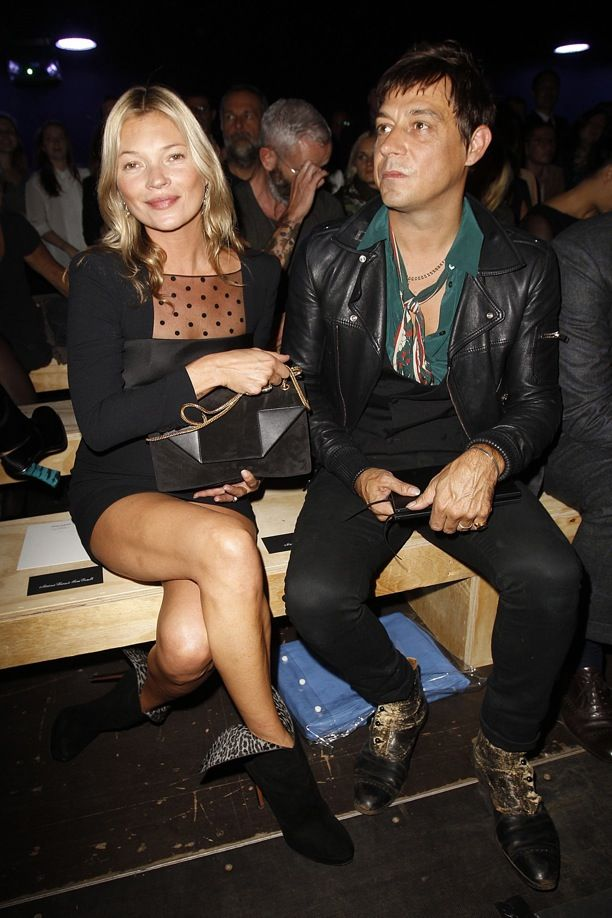 PFW Front Row: Saint Laurent S/S 2013