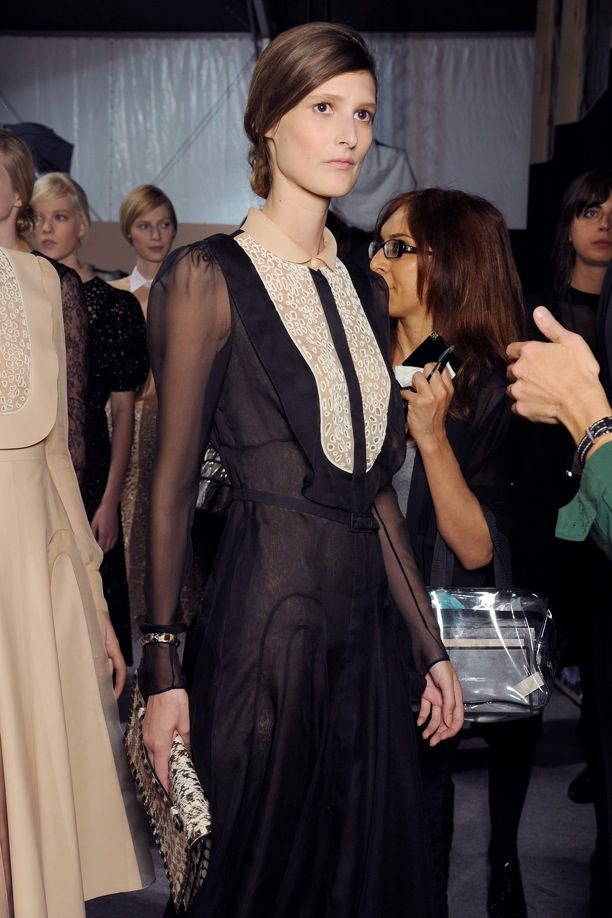 PFW Backstage: Valentino S/S 2013