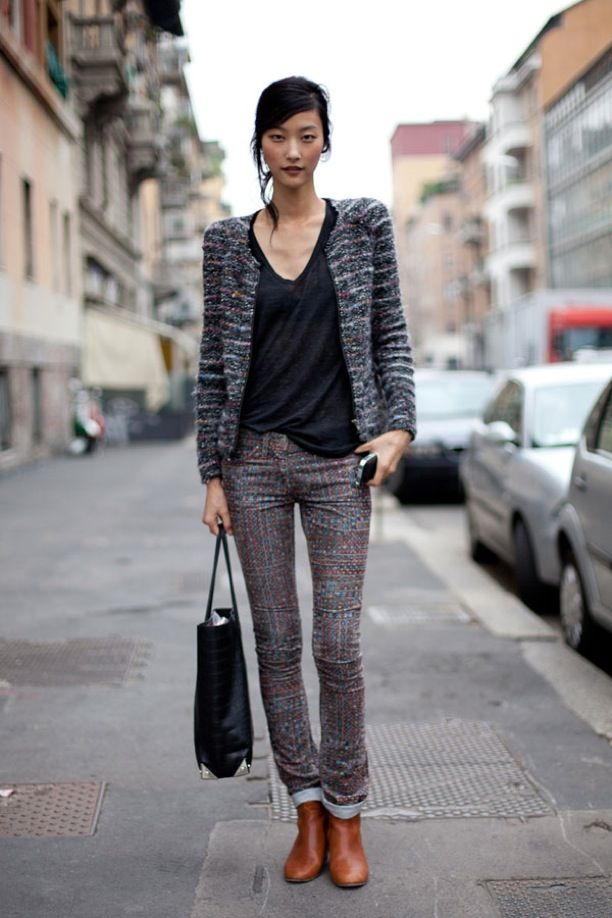 MFW Street Style: Model-Off-Duty