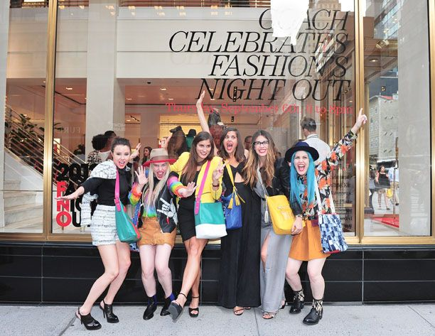Fashion's Night Out With Coach!