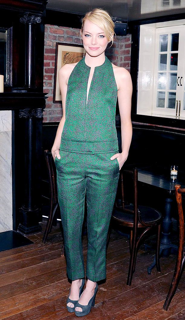 Look of the Day: Tailored Jumpsuit