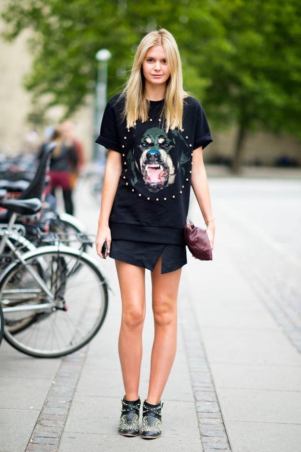 Street Style: Split Skirts