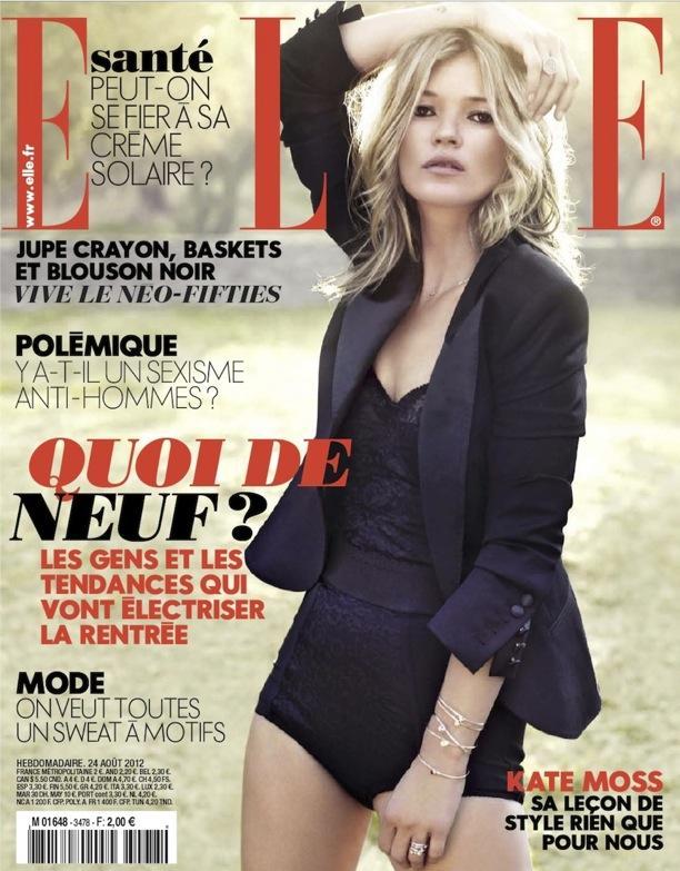 Kate Moss | Sous Le Soleil De Saint-Tropez | Elle France