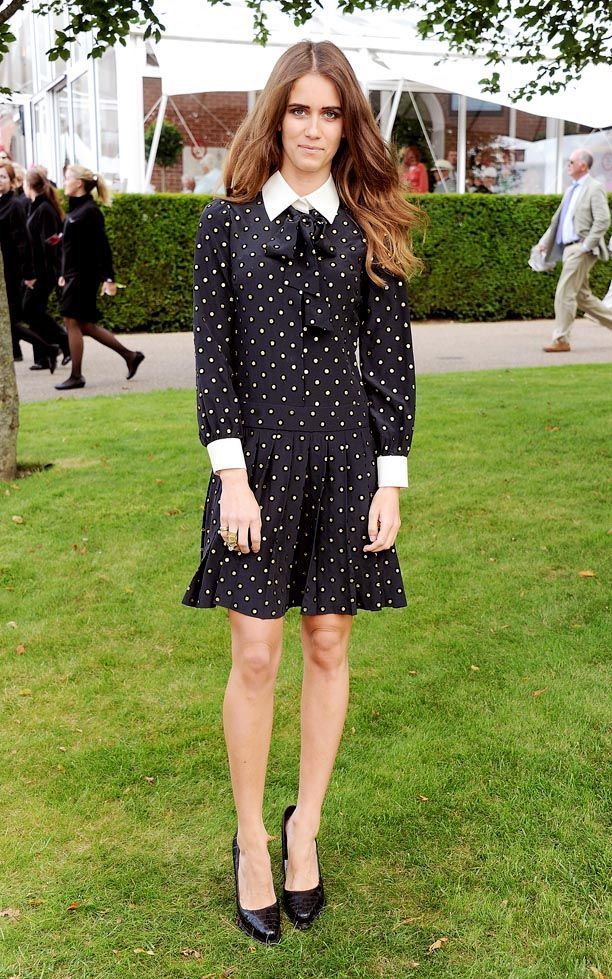 Look of the Day: Polka Dot