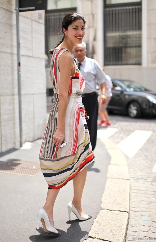 Street Style: Silk Prints