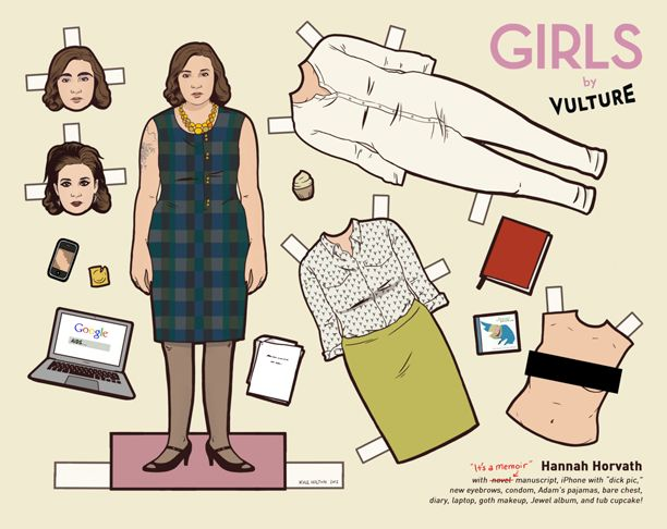 Paper Dolls: Girls