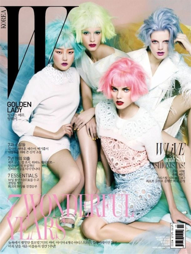 Pastel Pretties | W Korea