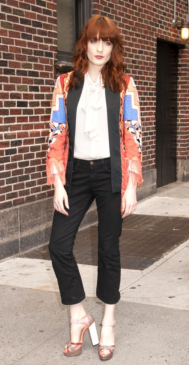 Look of the Day: Cropped Trouser
