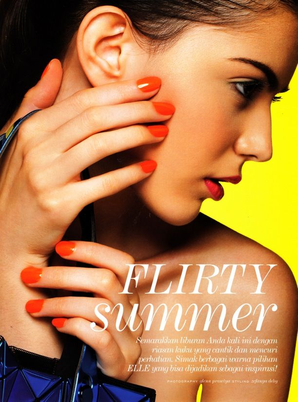Flirty Summer | ELLE Indonesia