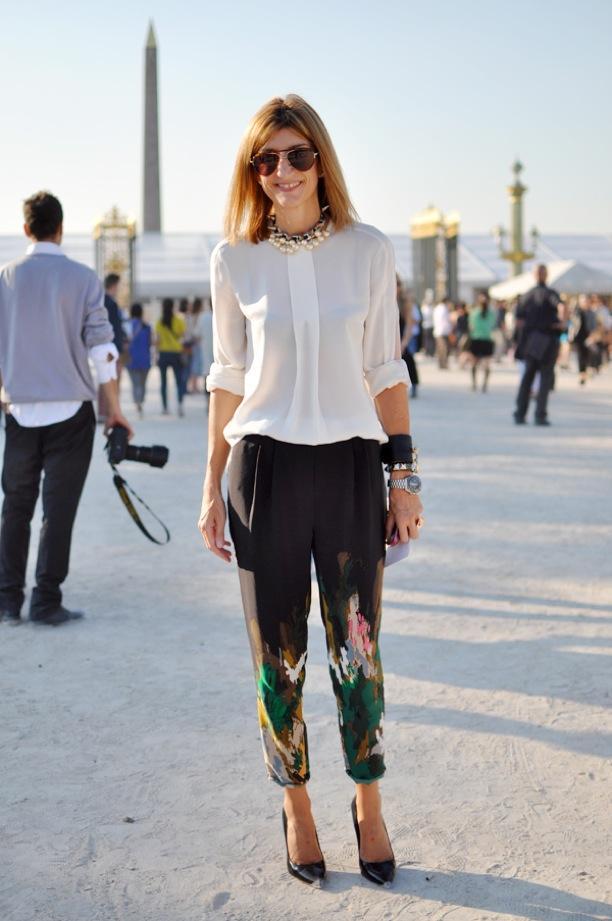 Street Style: Print Pants
