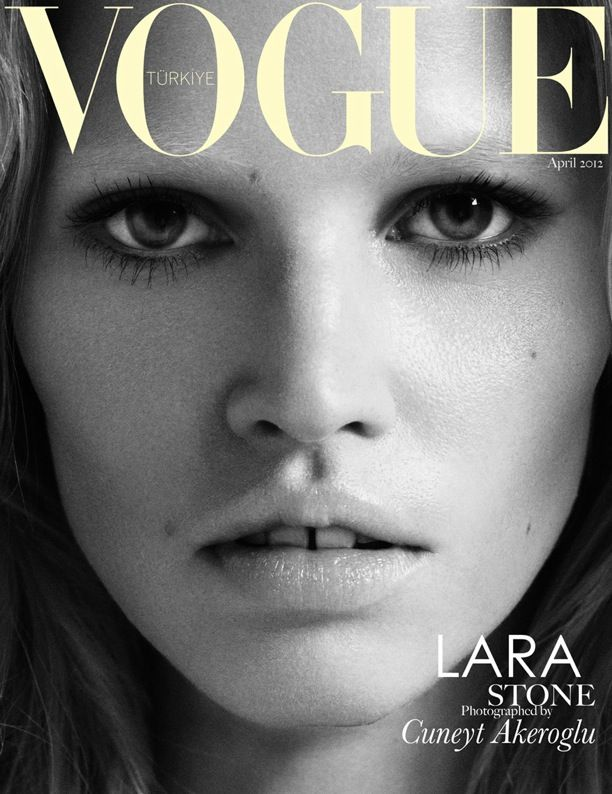 Lara Stone | Vogue Turkey