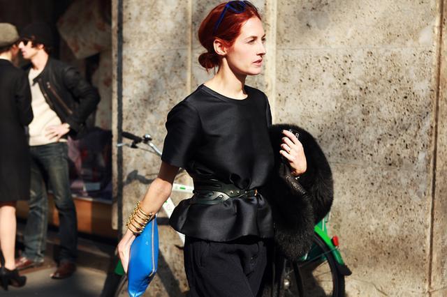 Street Style: Peplum Tops