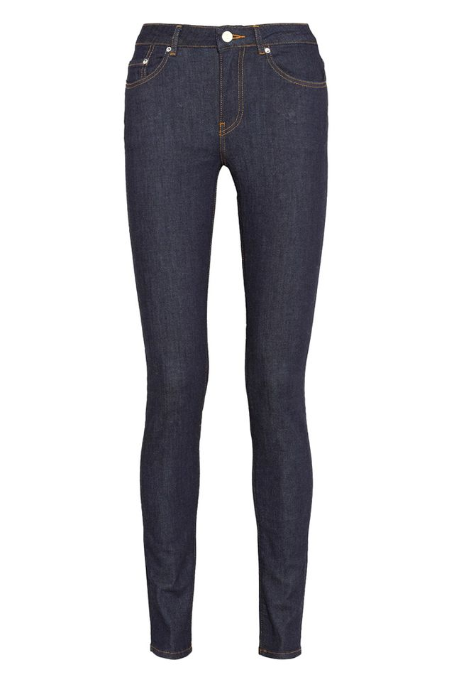 Acne Studios Pin Raw Reform High-Rise Jeans