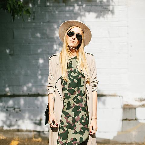 Eat Sleep Wear Camouflage Dress