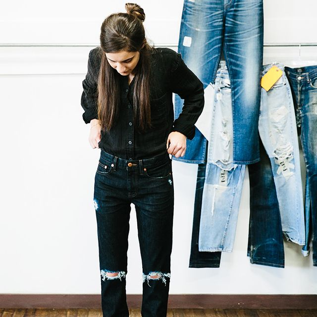D.I.Y.: How to Distress Your Denim the Madewell Way