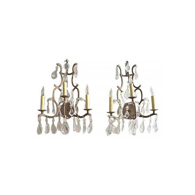 Dennis & Leen Small Chateau Sconces