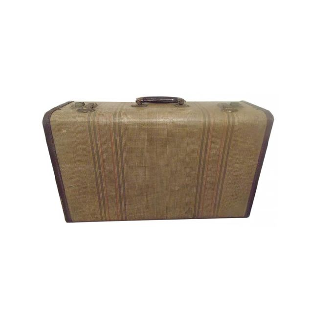 Etsy Vintage Tweed Suitcase