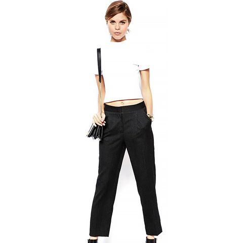 Relaxed Peg Pant