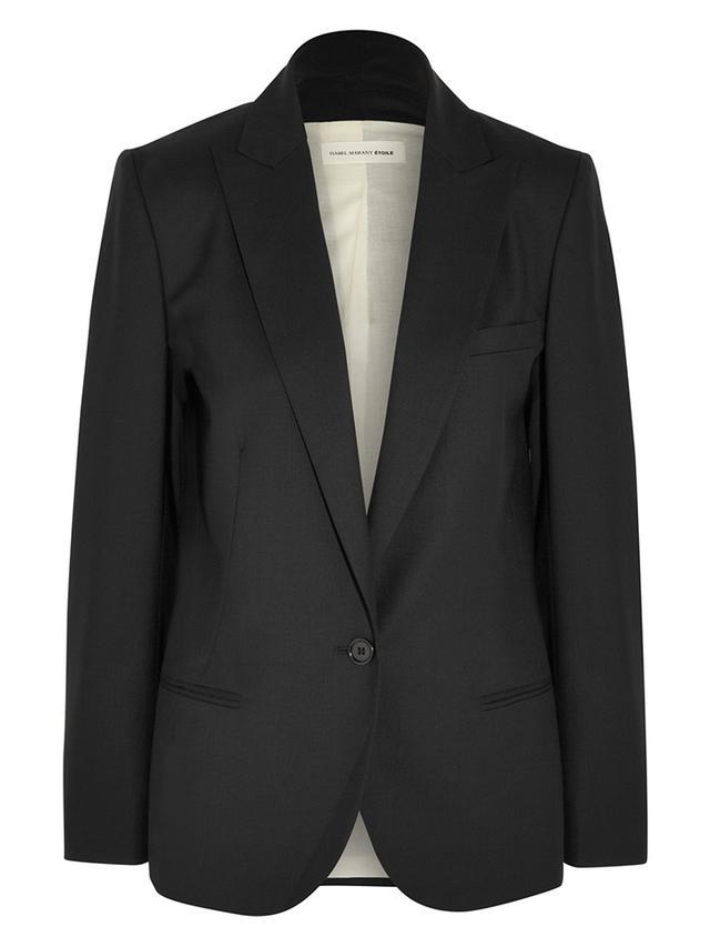 Etoile Isabel Marant Maldy Wool-Gabardine Blazer